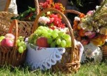 Спас кошик фрукти